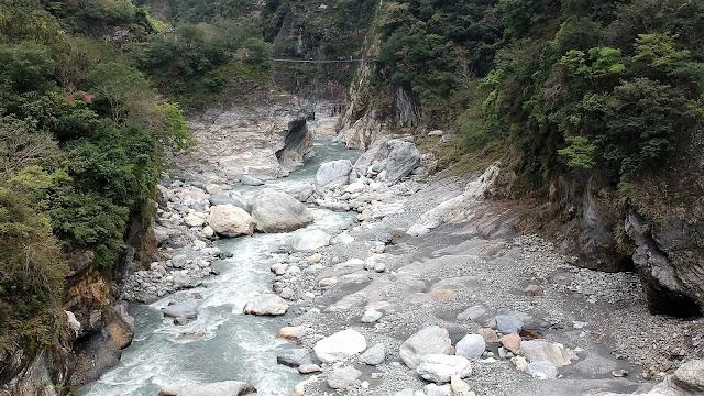 river taroko gorge taiwan
