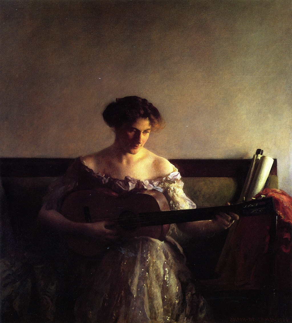 Joseph DeCamp, The Guitar Player (1908)