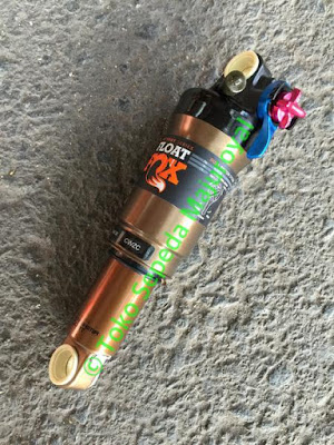 Rear Shock Fox 165mm Float CTD dps p-s a 3pos Rebound Kashima Coat