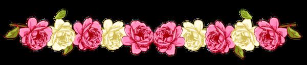 vintage rose border