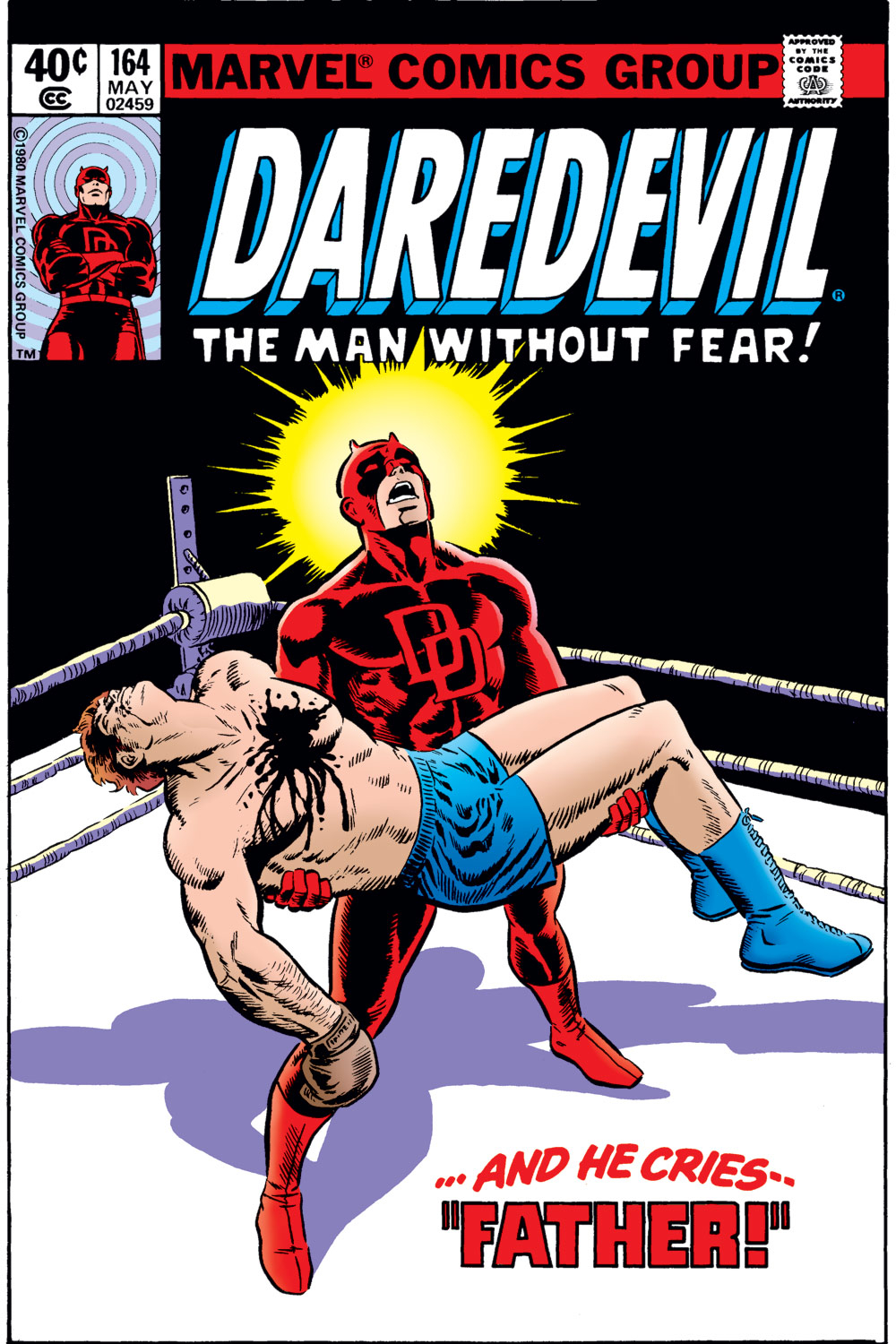Daredevil (1963-1998) issue 164 - Page 1