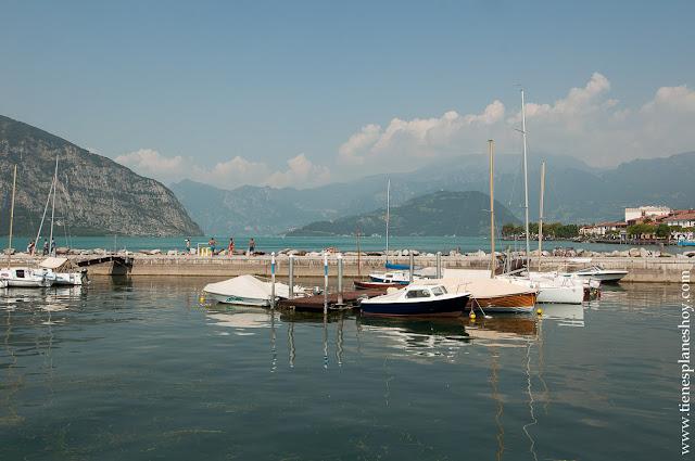 Lago Iseo Italia paisajes norte