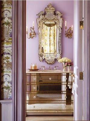To Da Loos Lusting For Mirrored Vanities Part 1