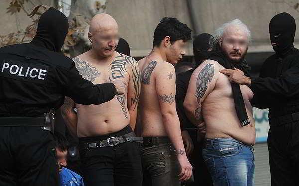 Arrestados en Turquia por llevar tatuajes