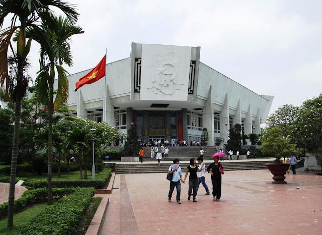 Ho Chi Minh museum in Hanoi Vietnam
