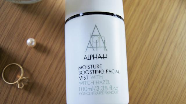 Alpha-H Moisture Boosting Mist Review