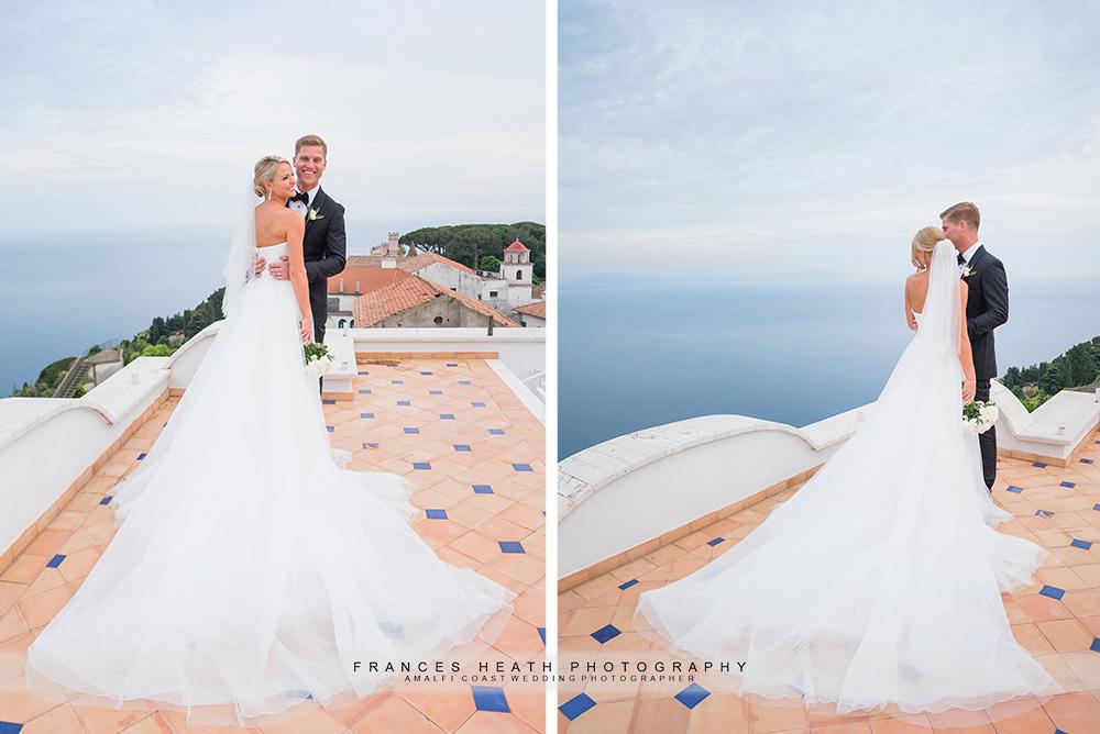 Wedding portrait at Villa Eva