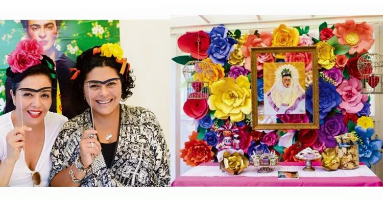 decora tu fiesta al estilo frida kahlo artes davinci   ideas con