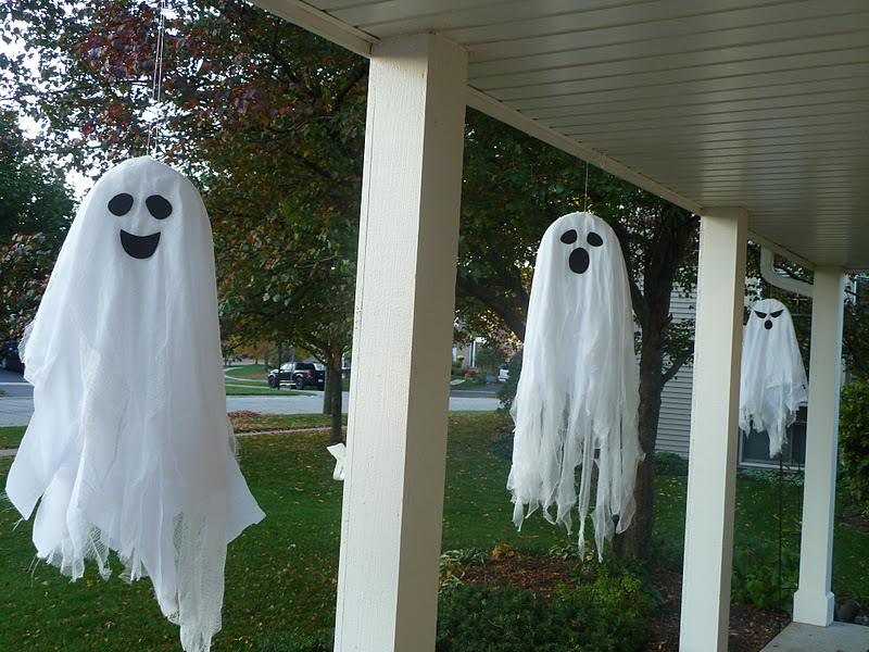 Sometimes Creative Hanging Ghosts