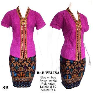 Kebaya Velisa Rok dan Batik