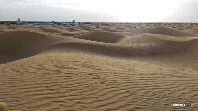 Dormir en el Sáhara
