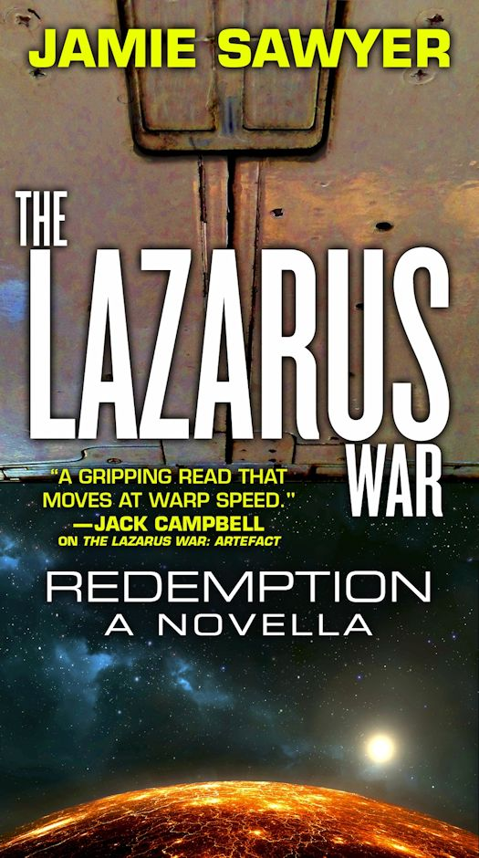 Interview with Jamie Sawyer, author of The Lazarus War Series