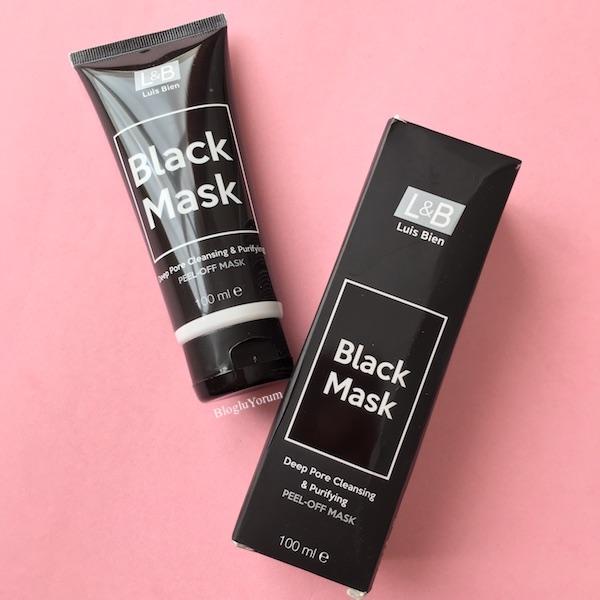 luis bien arındırıcı soyulabilir siyah maske