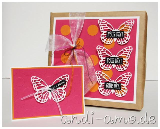 Thinlits Schmetterlinge Stampin Up
