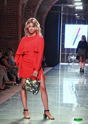 Elena Barolo e le borse marcate di Hussain Ali Abbass Harba Torino Fashion Week