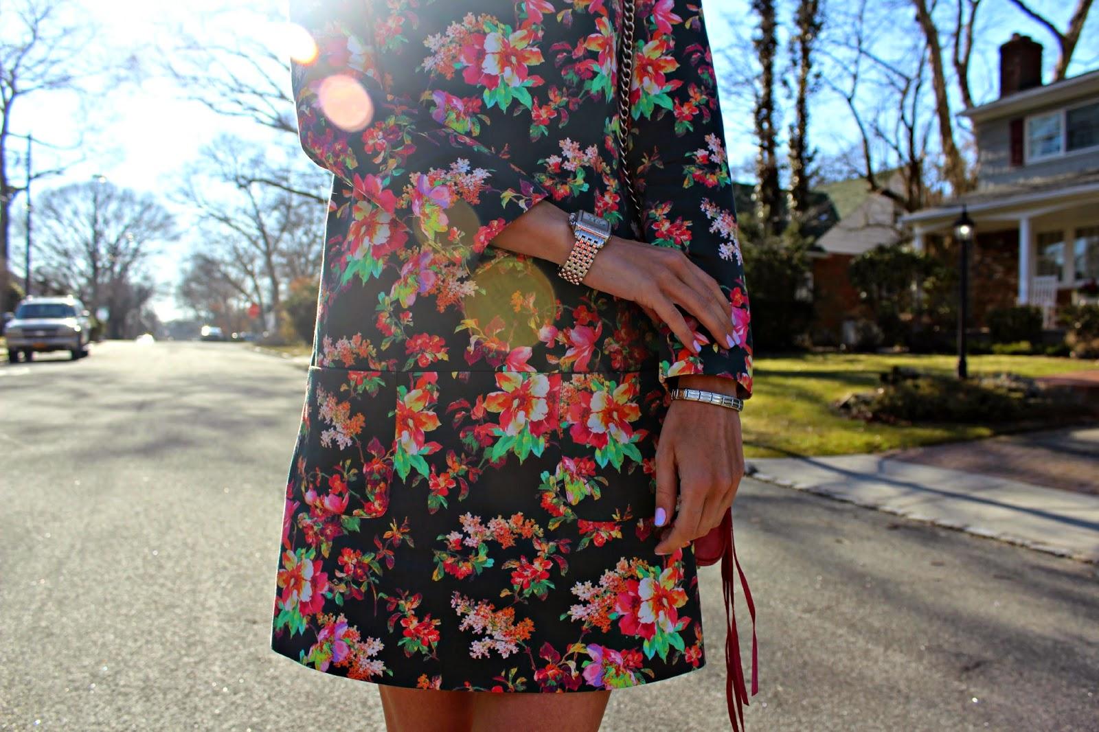 piol floral mini dress
