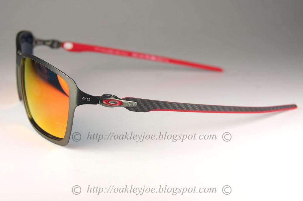 ab0dc22f90 Oakley Ferrari Collection Tincan Carbon Carbon Sunglasses « Heritage ...
