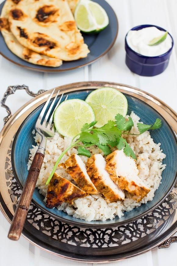 BBQ Chicken Madras - La Cuisine d'Helene