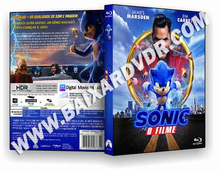 Sonic O Filme (2020)  BD-R 25GB DUAL