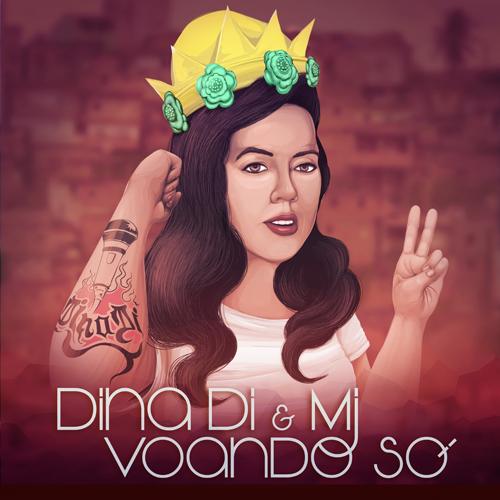 O rapper MJ lança musica escrita e gravada em parceria com a rainha DINA DI #VoandoSó