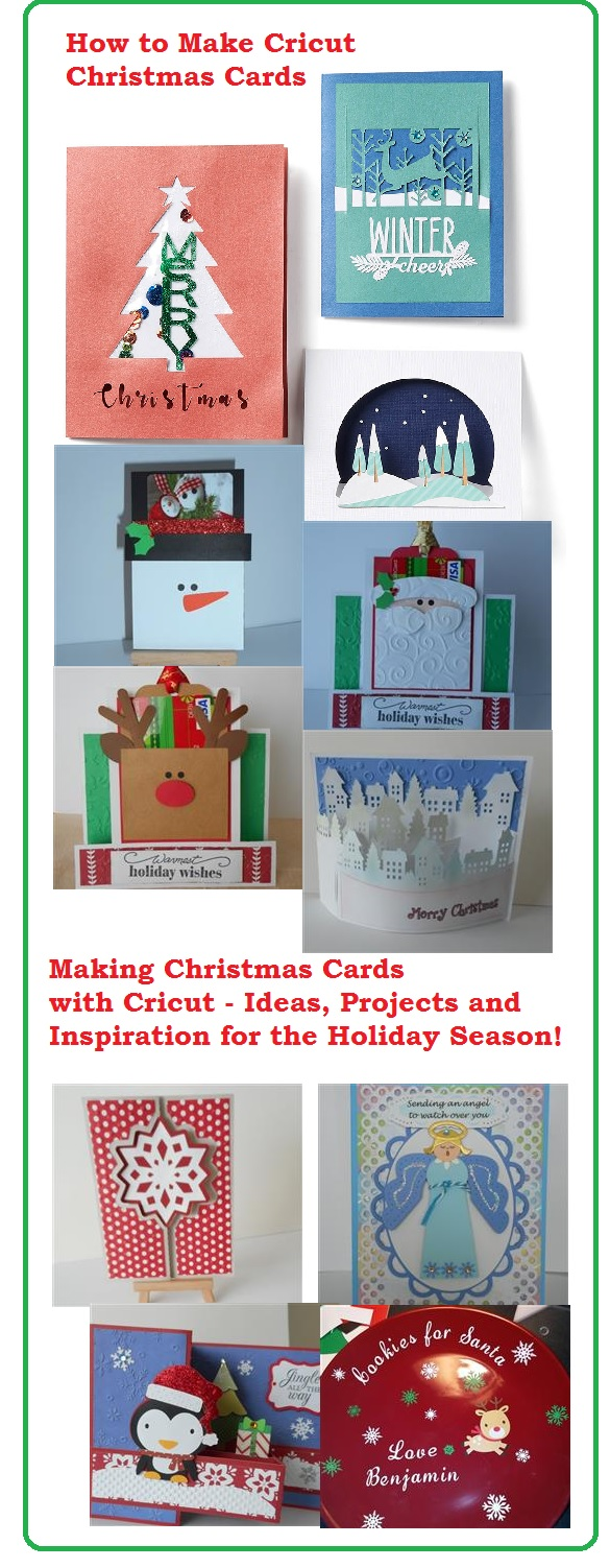 Learn How to Make Christmas Cards with Your Cricut Machine
