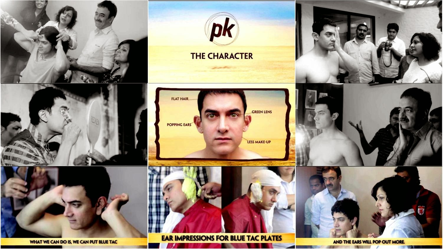 Making of PK: 10 Steps of Reinventing Peekay