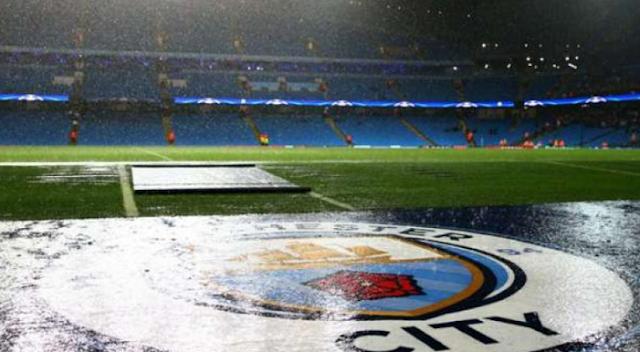 Laga Manchester City-Borussia Monchengladbach Ditangguhkan Akibat Hujan Lebat