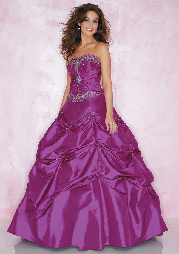 ef47914e5ef Purple Gown For Wedding. ivory white and purple tulle ball gown ...