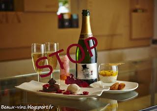 beaux-vins champagne dessert accord vin
