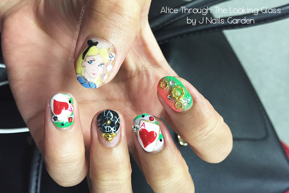 Alice Through The Looking Glass Nails