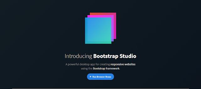 Bootstrap Studio - Thiết kế web chưa bao giờ đơn giản hơn