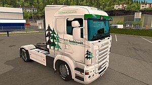 A.W. Jenkinson Scania RJL skin