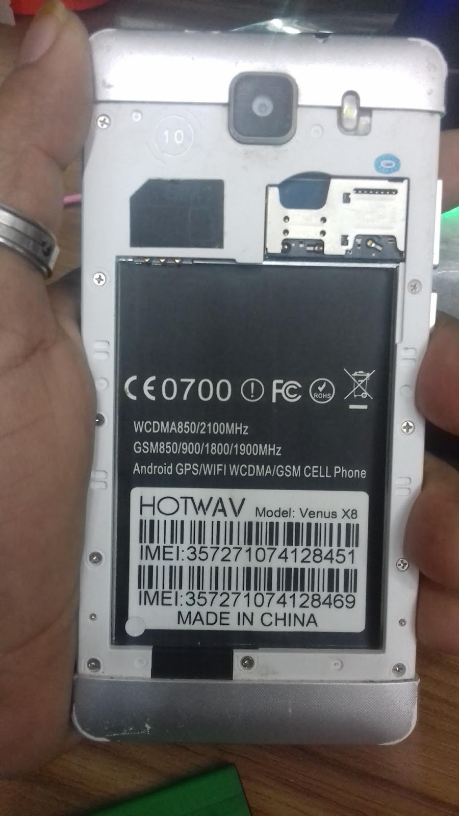 GSM RUMAN TELECOM: HOTWAV Venus X8 Flash File