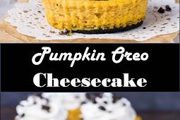 #Amazing #Recipes #Around #The #World #Pumpkin #Oreo #Cheesecake