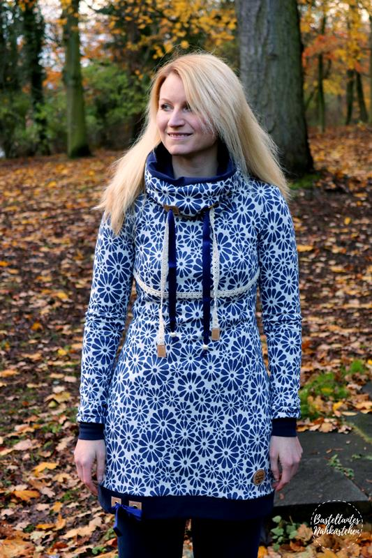 12 Colours of Handmade Fashion: freie Farbwahl! Hoodie Missy ...