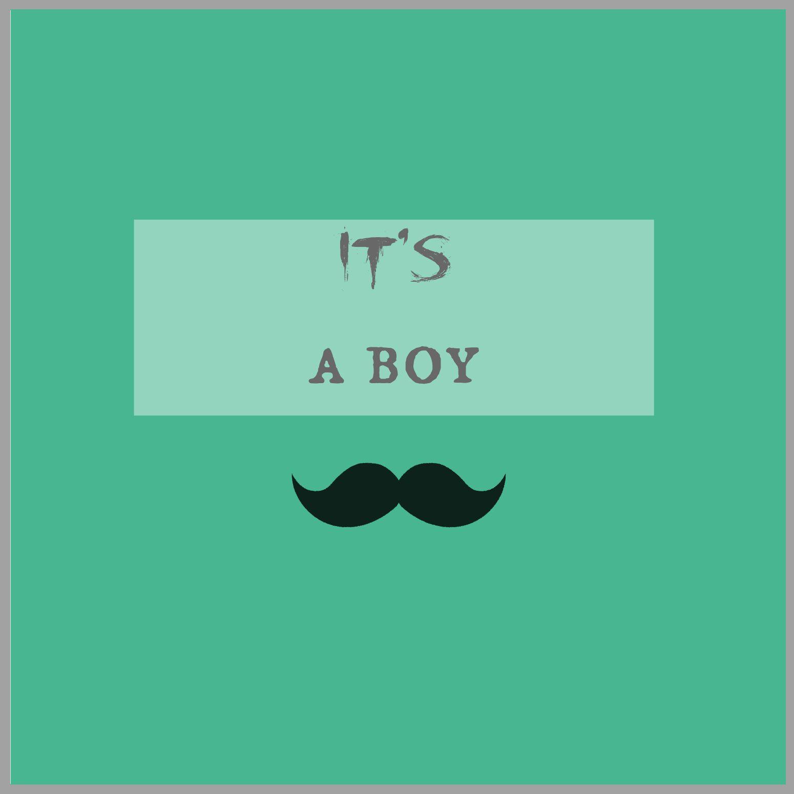 It's a boy! To chłopiec, syn, będę miała syna