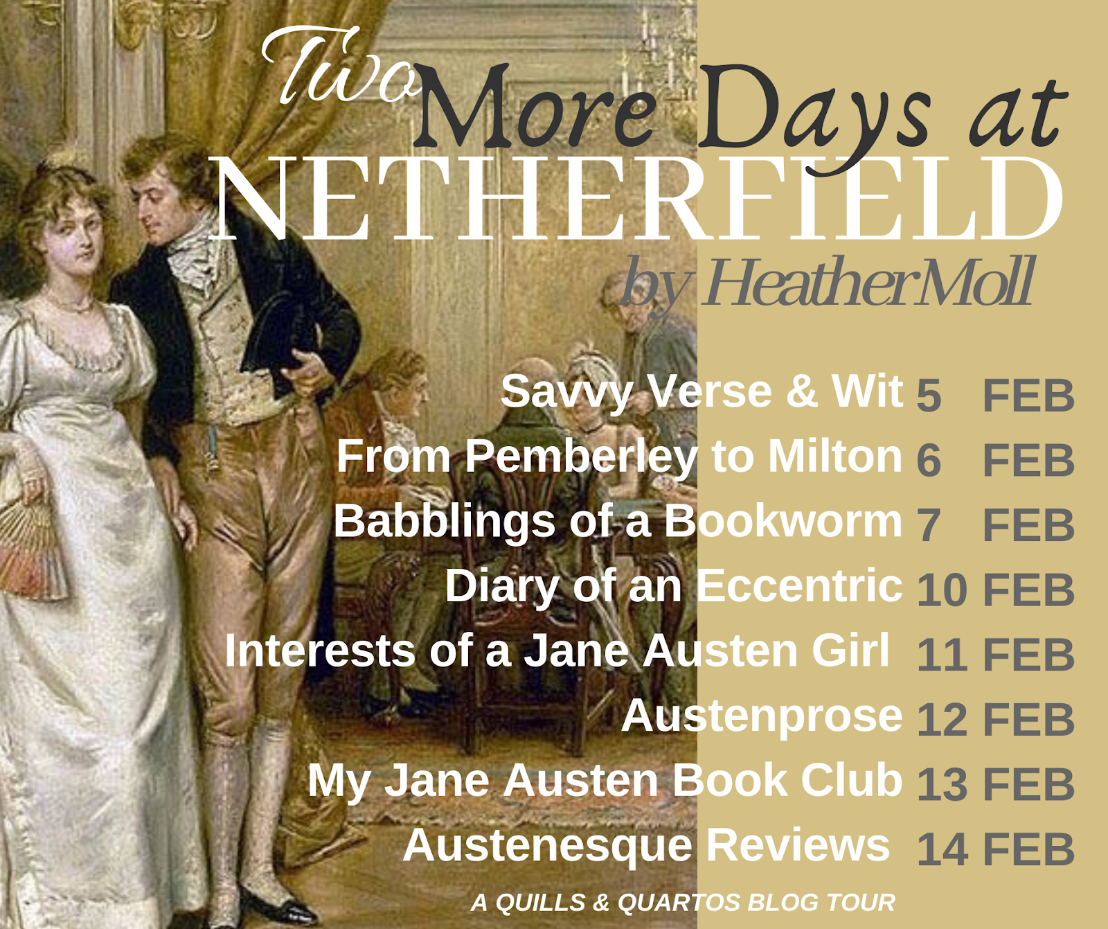 Two More Days at Netherfield by Heather Moll