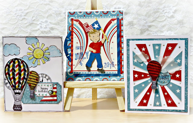 Firecracker cards by Tracee Provis Bo Bunny 01