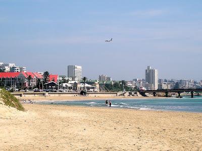 Port Elizabeth, South Africa, Eastern Cape, Port Elizabeth International Airport, PLZ, Airport, Beach