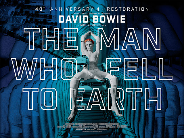 Man Who Fell to Earth 40th Anniversary Poster