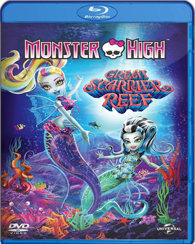 Monster High: The Great Scarrier Reef  [BD25] [2016] [Latino]