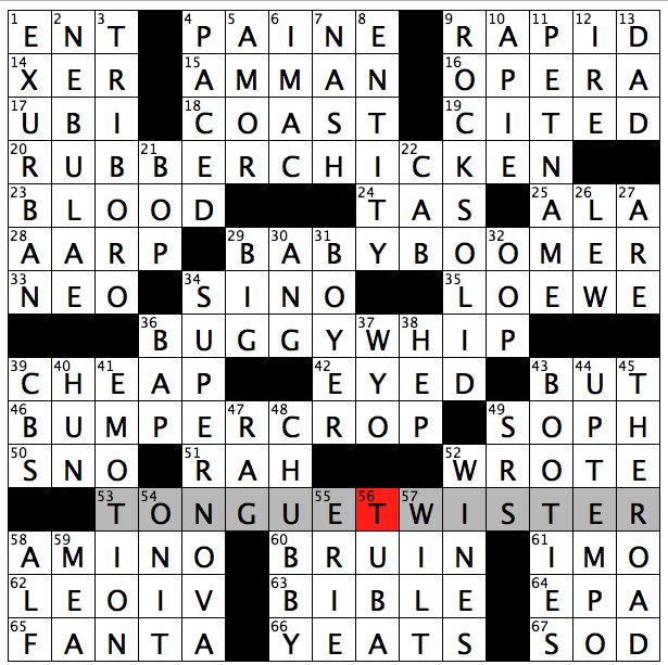 Rex Parker Does the NYT Crossword Puzzle: Charles of ...