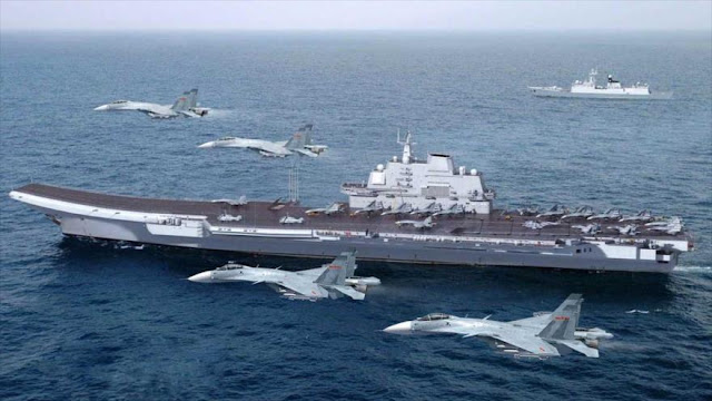 """""""EEUU y China listos para guerra electrónica en Mar Meridional"""""""