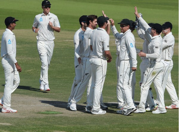 New Zealand beat Pakistan in Abu Dhabi Test