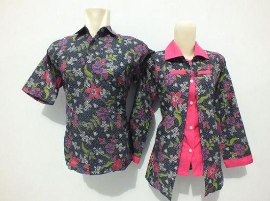 Model Batik Kombinasi Guru