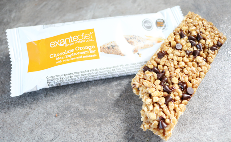 Exante Chocolate Orange Bar review