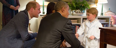 Obama confronts Prince George