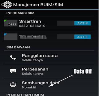 Pengalaman Smartfren Andromax V2 Tidak Bisa Internet