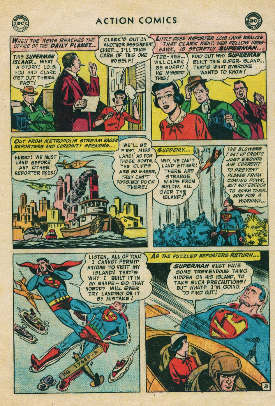 Read online Action Comics (1938) comic -  Issue #224 - 5