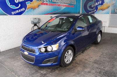 Pick of the Week - 2012 Chevrolet Sonic 2LS